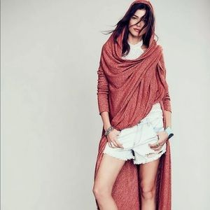 Free People Maxi Afternoon Wrap Olive or Sienna